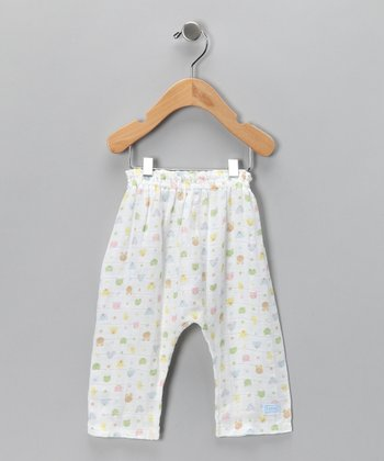 White Forest Friends Organic Pants