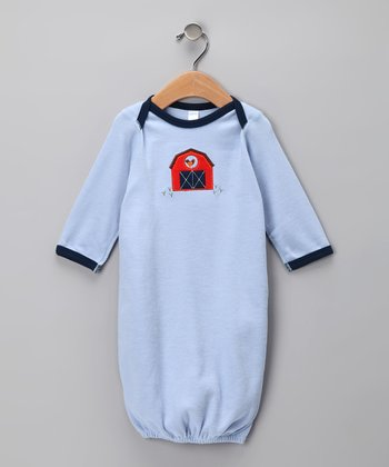Blue Farm Organic Gown - Infant
