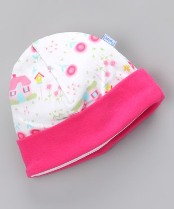 Pink Cottage Organic Beanie - Infant