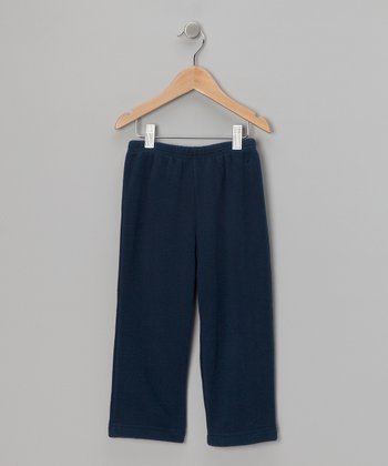 Navy Winter Wear Fleece Pants - Infant & Toddler