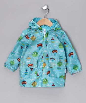 Aqua Balloon Raincoat - Infant & Toddler