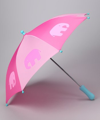 Pink Elephant Umbrella