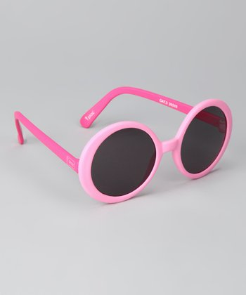 Hot Pink Flexible Sunglasses
