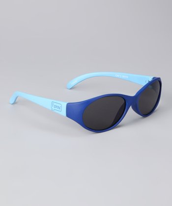 Blue Flexible Sunglasses