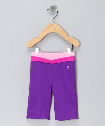 Berry & Plum Yoga Pants - Infant & Toddler