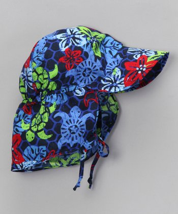 Navy Turtle Desert Hat