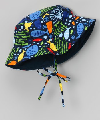 Navy Undersea Bucket Hat