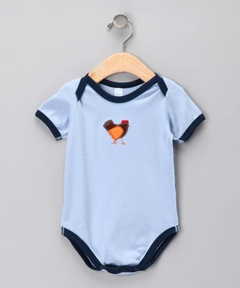 Blue Farm Rooster Organic Bodysuit - Infant