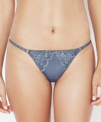 Shale Lace Overlay G-String - Women
