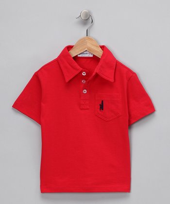 Red Polo - Toddler & Boys