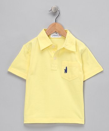 Yellow Polo - Toddler & Boys