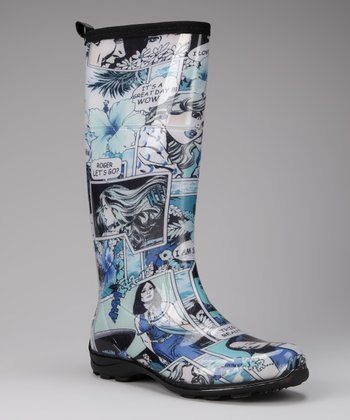 Blue Betty Rain Boot
