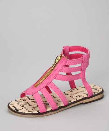 Fuchsia Gladiator Sandal