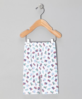 Le Top Blue Plane Pants - Infant