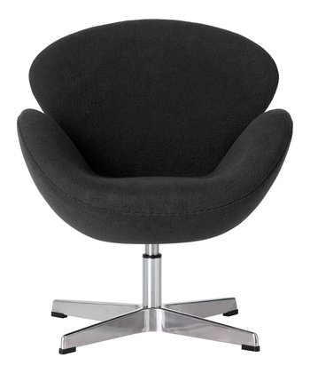 Charcoal Cygnet Chair