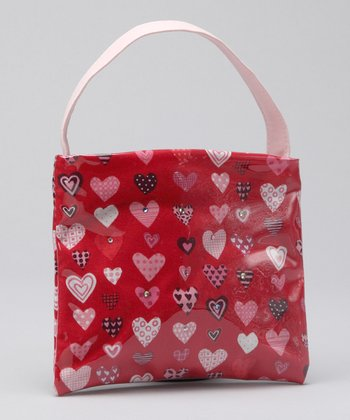 Red & Pink Hearts Lil' Purse