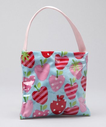 Blue Strawberry Lil' Purse
