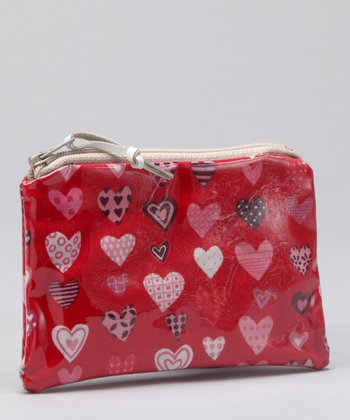 Red & Pink Hearts Coin Purse