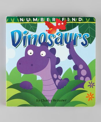 Number Find: Dinosaur Board Book