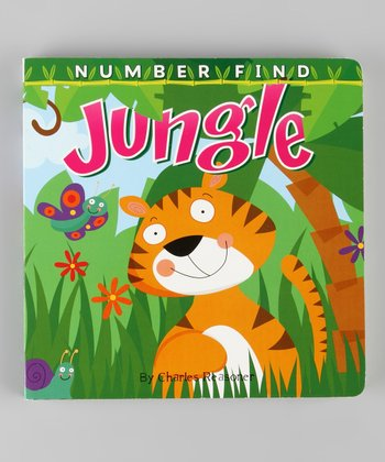 Number Find: Jungle Board Book