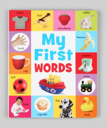 My First Words Board Book