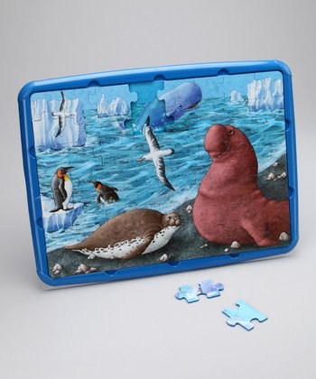 miniLand Educational Antarctic Habitat Puzzle Set