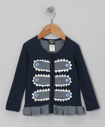 Navy Baguette Jacket - Infant & Toddler