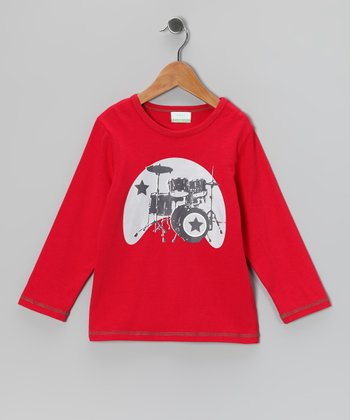 Red Drum Organic Tee - Kids