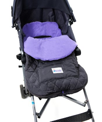 Purple Infant Stroller Blanket