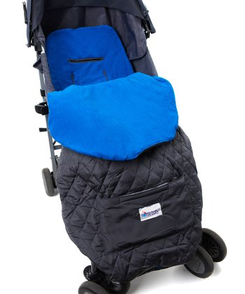 Royal Blue Toddler Stroller Blanket