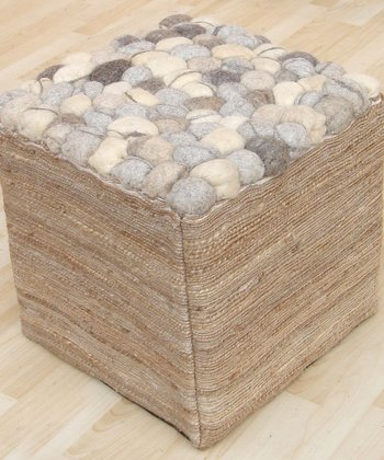 Natural Pebble Stool