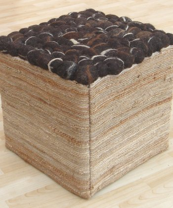 Chocolate Pebble Stool