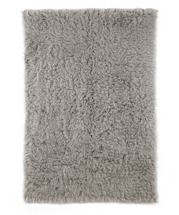 Natural Gray Henna Wool Rug