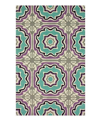 Lina Tile Wool Rug