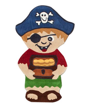 Petey the Pirate Rug