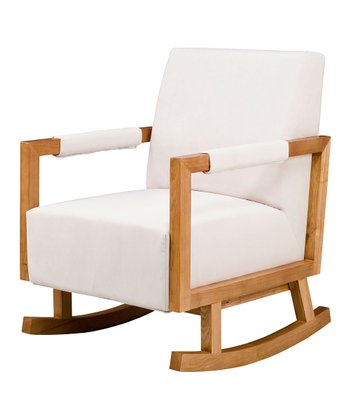 nurseryworks Ecru Bungalow Rocker