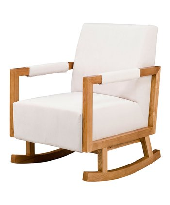 Ecuu & Light Finish Bungalow Rocker