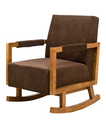 Mocha & Light Finish Bungalow Rocker