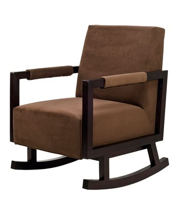 Mocha & Dark Finish Bungalow Rocker