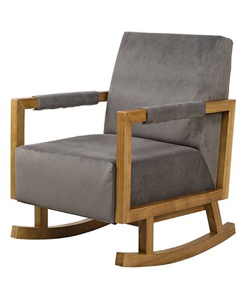 Slate & Light Finish Bungalow Rocker