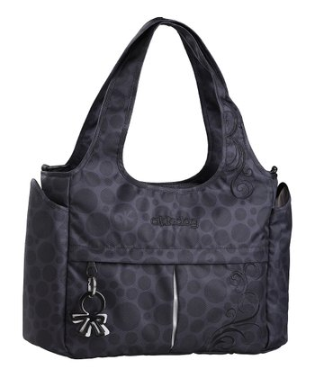 Black Bliss Mini Celeb Diaper Bag