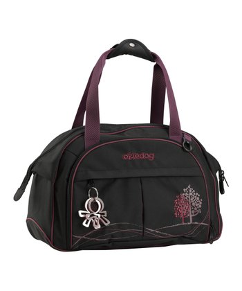 Black & Purple Dahoma Shuttle Diaper Bag