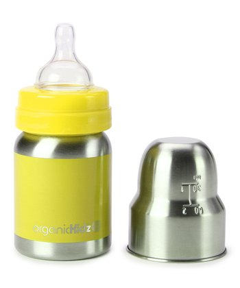 Yellow Narrow-Neck 4-Oz. Bottle