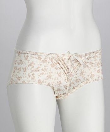 Cream & Coffee Bess Boyshorts - Women