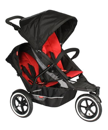 Red & Black explorer Double Your Buggy Bundle