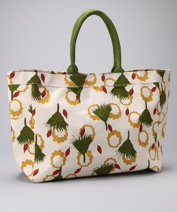 Harvest Cream Carryall Tote