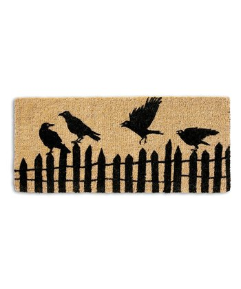 Perched Crows Doormat