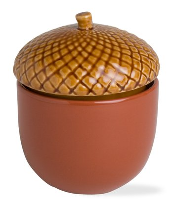 Terra-Cotta Acorn Candle Pot