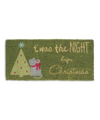 'T'was the Night' Estate Coir Doormat
