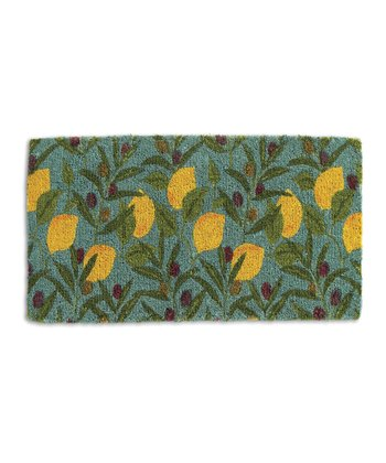 Lemon & Olive Doormat